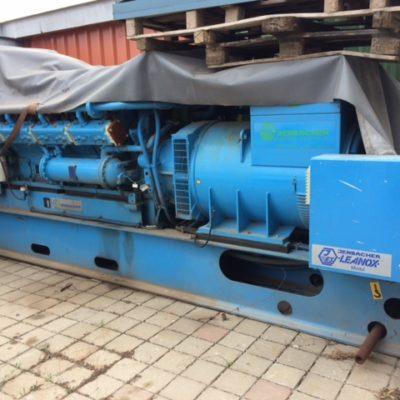 Jenbacher GAS 216 /875kVA Stromaggregat