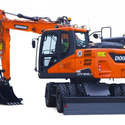 Doosan DX165W-5 Mobilbagger